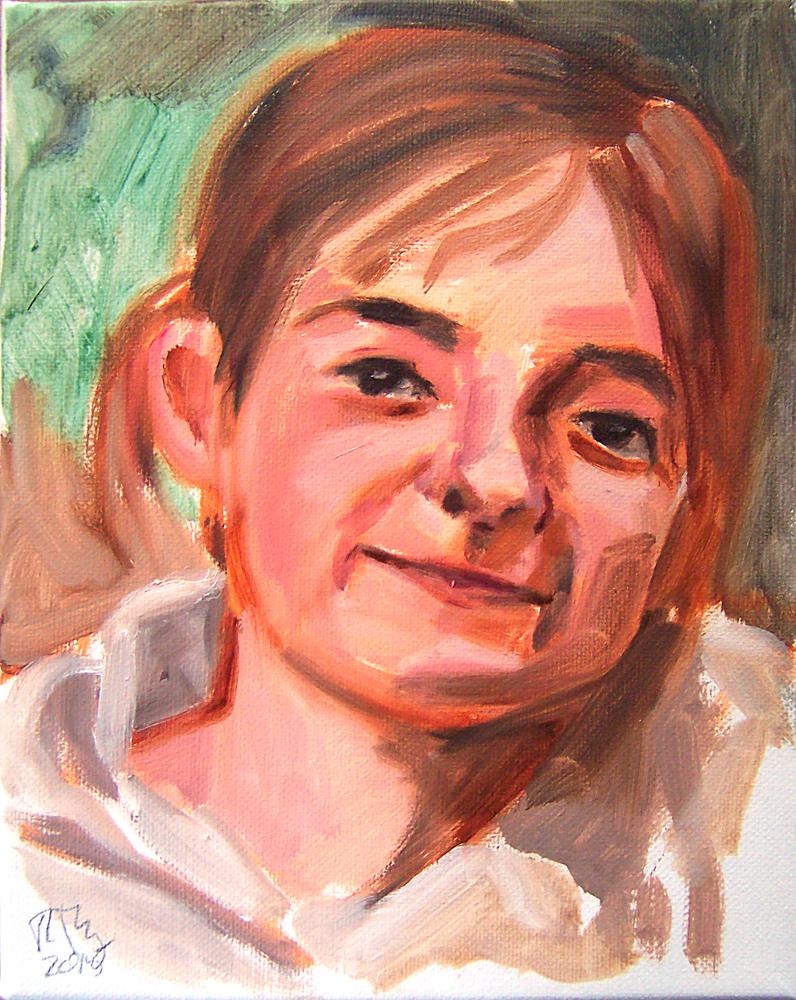 Finley (Oil on canvas - 2015)