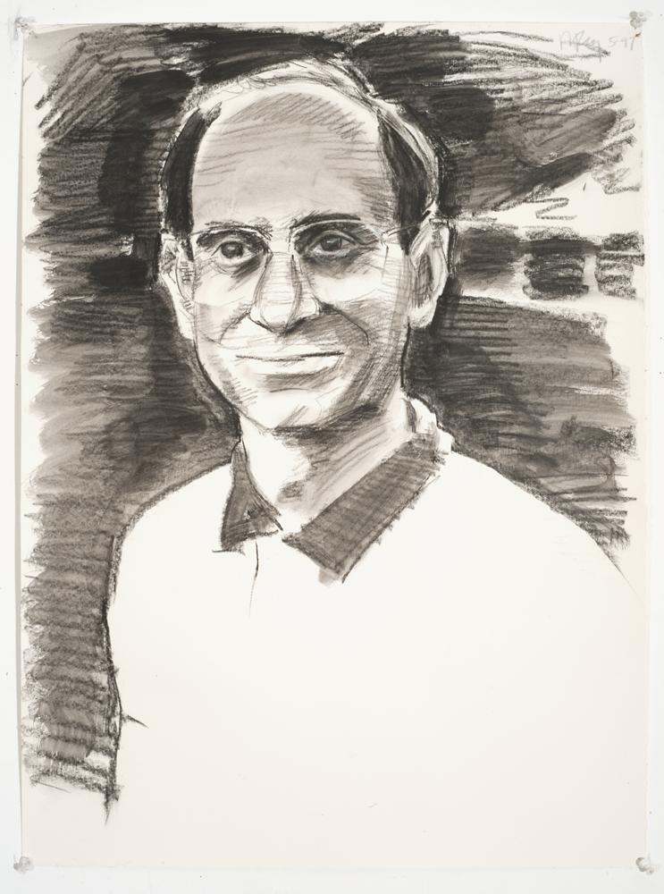 Alan v1 (Charcoal on paper - 1997)