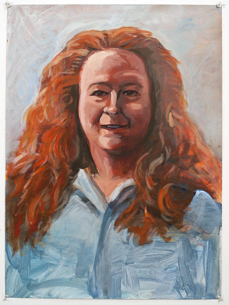 Cynthia (Acrylic on paper - 2003)