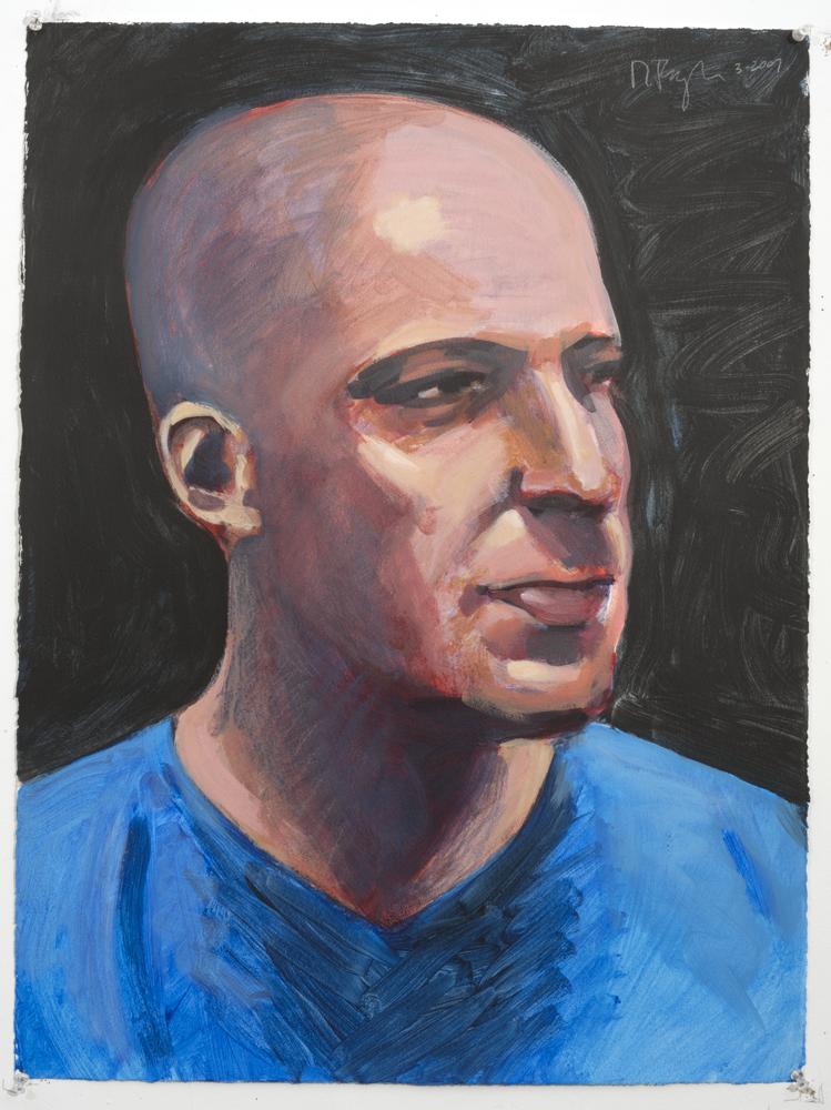 Derek (Acrylic on paper - 2007)