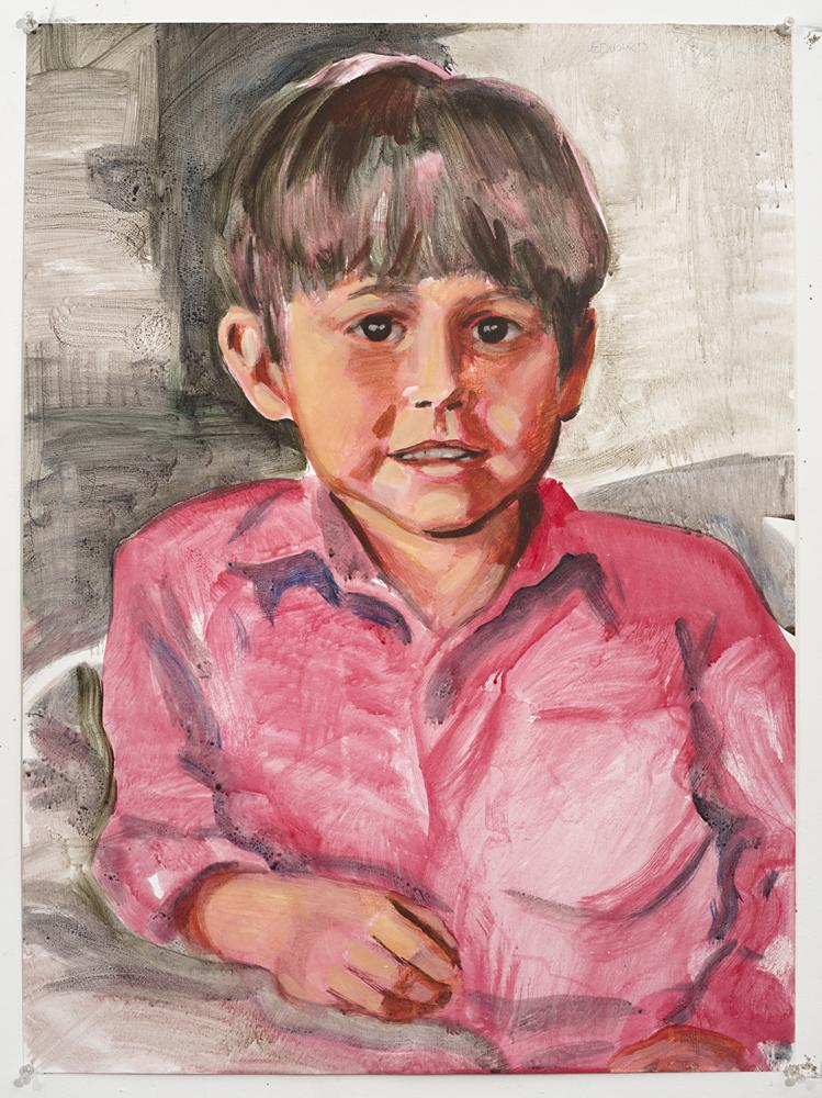 Edward 2 (Acrylic on paper - 1995)