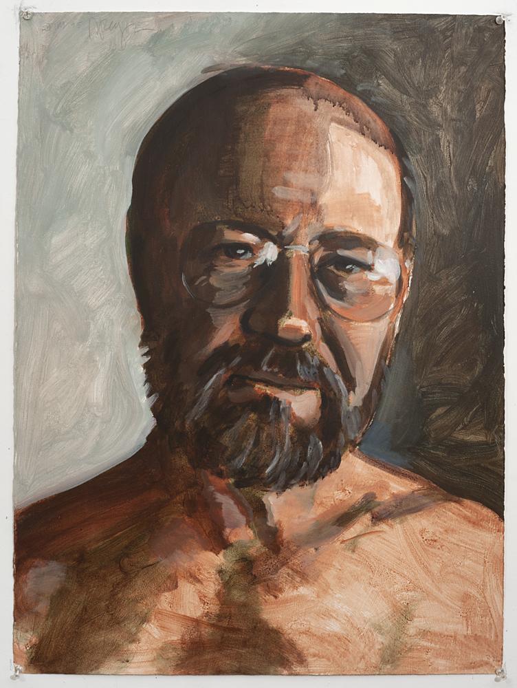 Jim (Acrylic on paper - 1995)