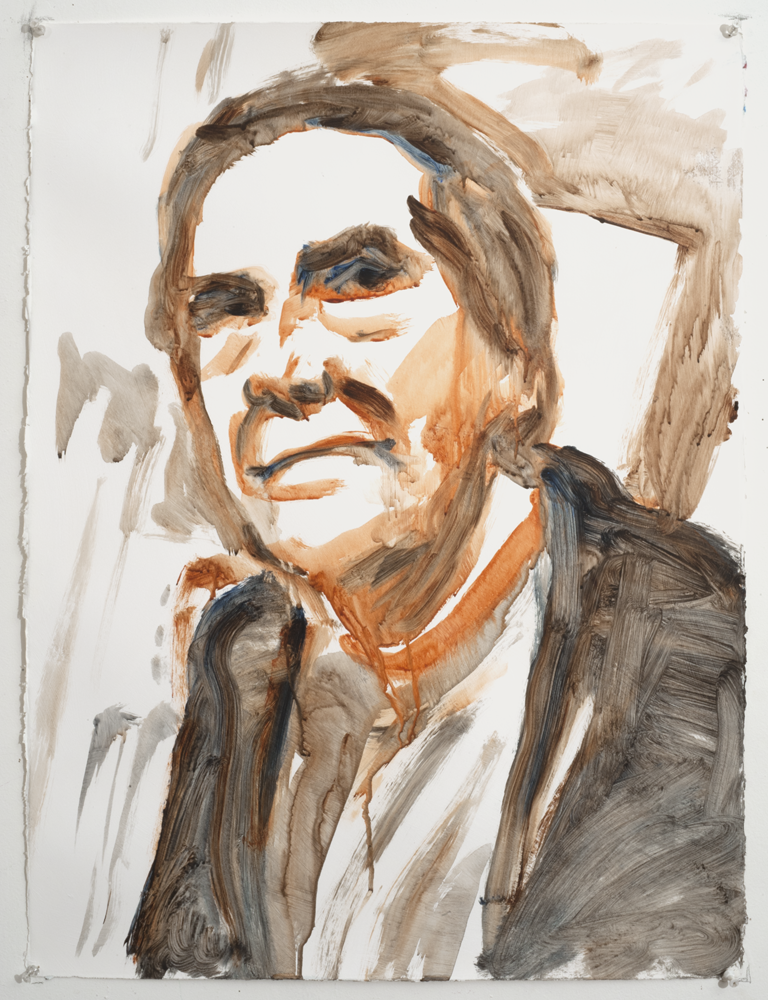 John C Moore v3 (Acrylic on paper - 2005)