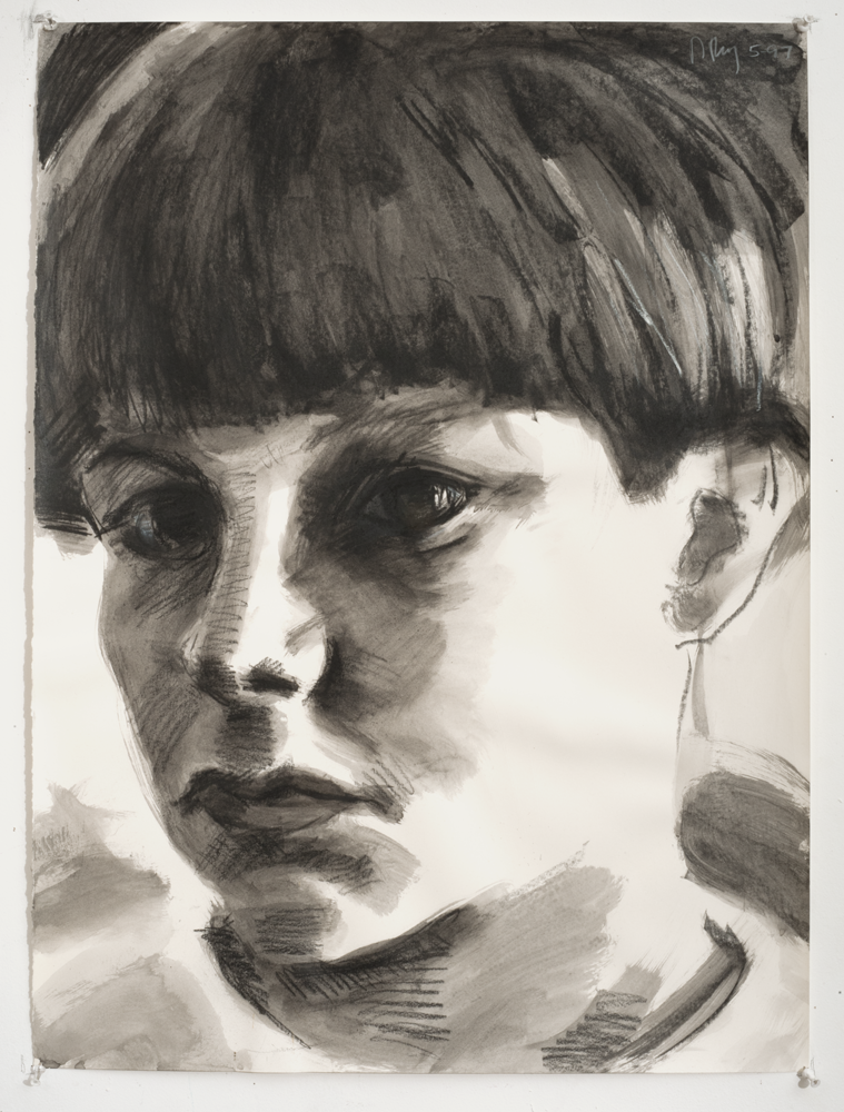 John (Charcoal on paper - 1997)
