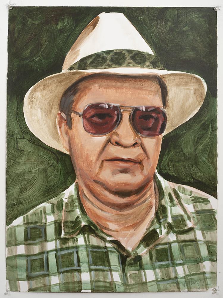 Olin (Acrylic on paper - 1995)