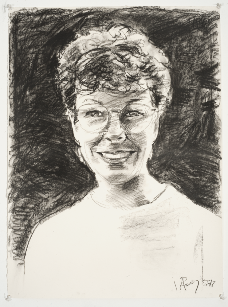 Pam (Charcoal on paper - 1997)