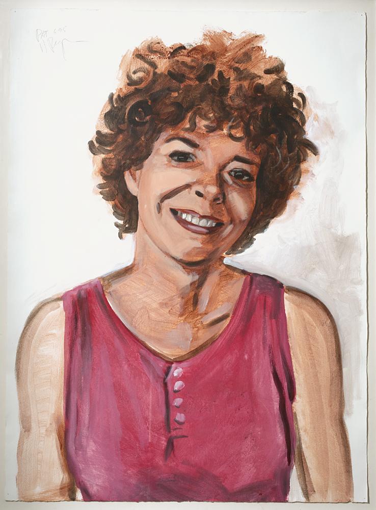 Patsy Bob (Acrylic on paper - 1995)
