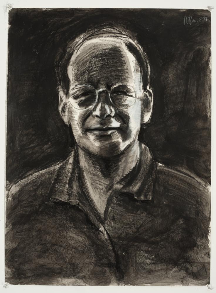 Dark Tom v2 (Charcoal on paper - 1997)