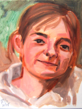 Finley (Oil on canvas - 2015)